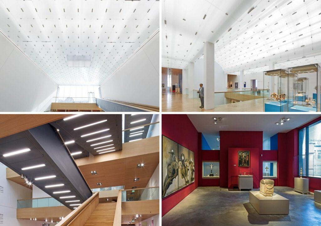 Landesmuseum Bonn: Sanierung der Innenbeleuchtung, Modernisierung durch Umstellung auf energieeffiziente LED-Beleuchtung
